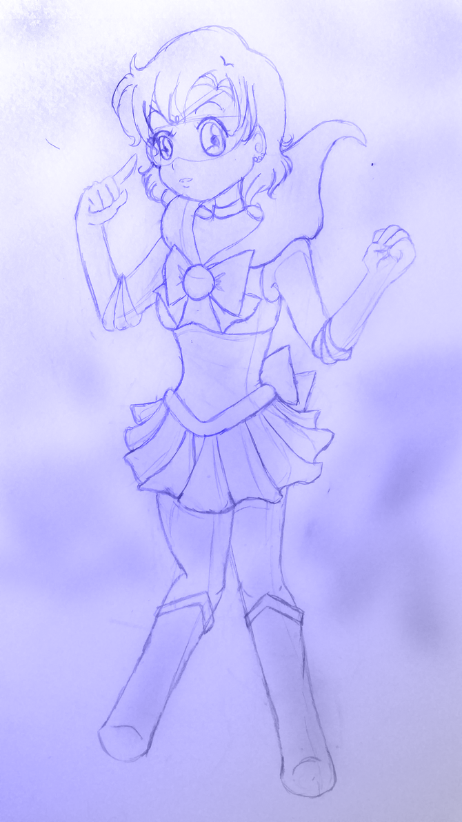 Chibi Sailor Mercury (WIP) by LLAP
