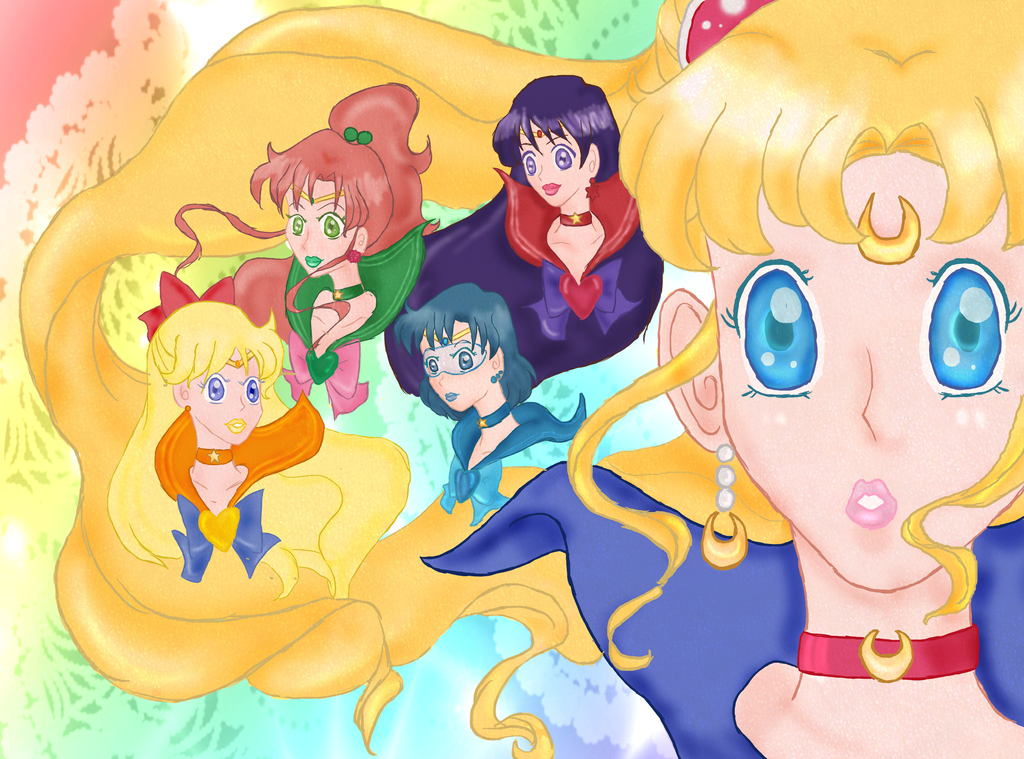 Sailor Moon Group by LLAP