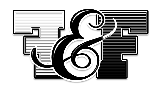 f and f logo by shoesoff