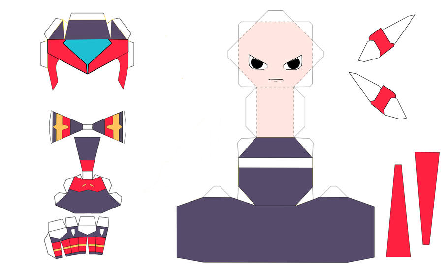 Zero Papercraft Template By IchigoLemons On Deviantart