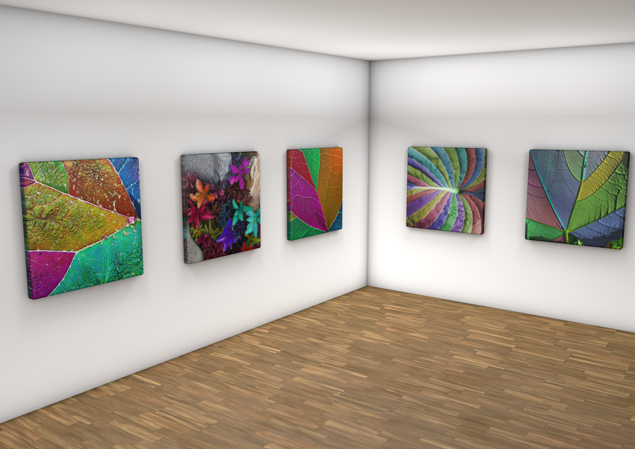 Gallery Wall Nature Abstract By Beartbesmart On DeviantArt - Art gallery wall