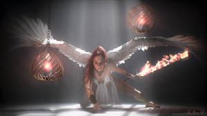 My Warrior Angel (Warm Version) by mcmania72