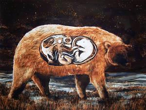 Golden bear belly