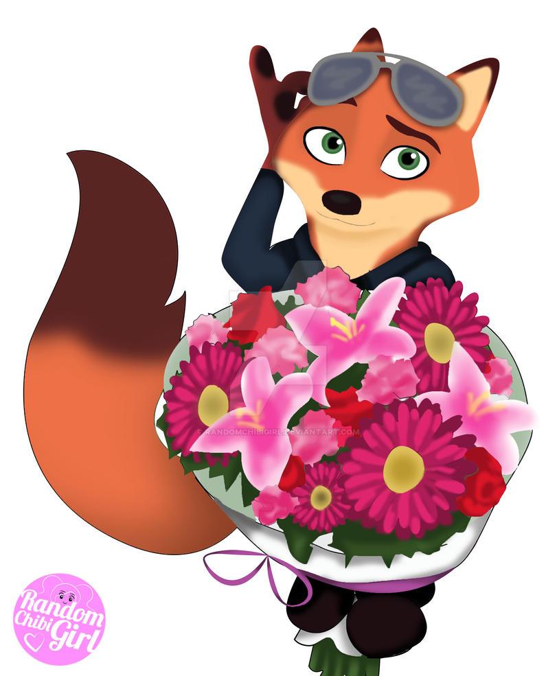 Happy Valentines Day From Nick by RandomChibiGirl