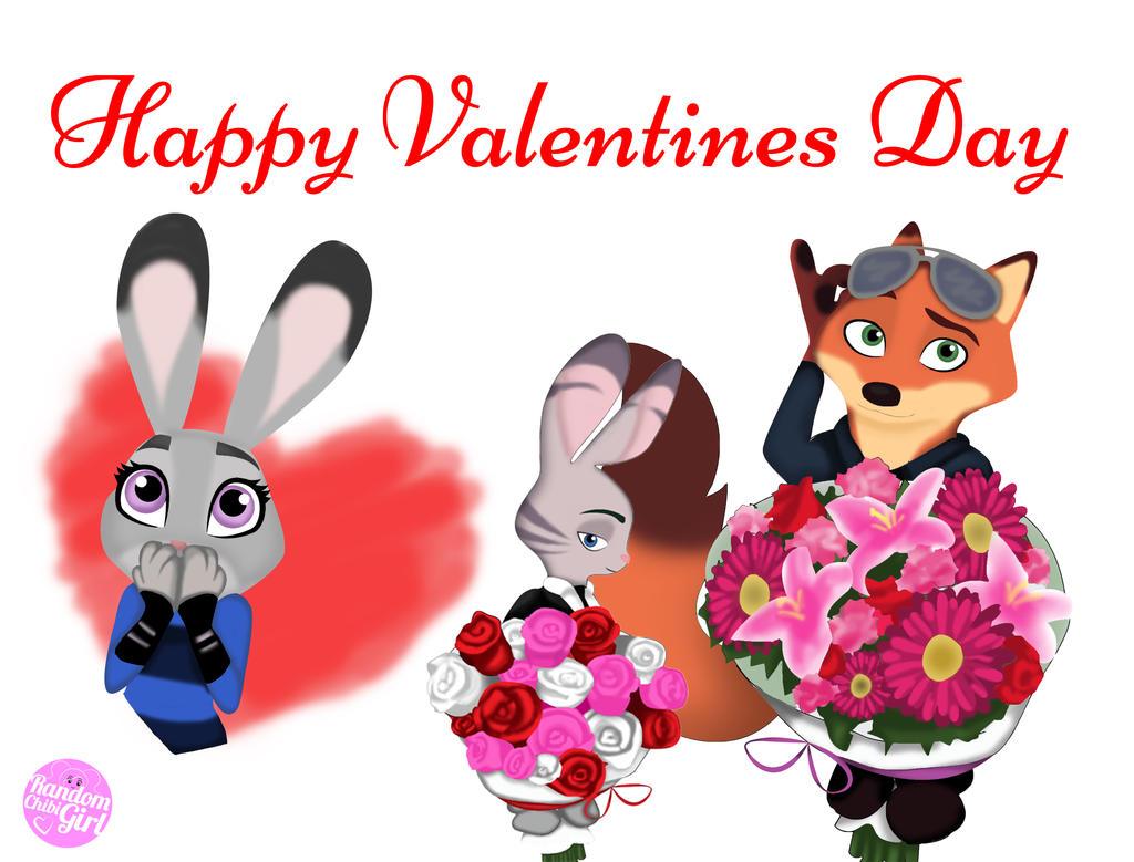 Happy Valentines Day Judy by RandomChibiGirl