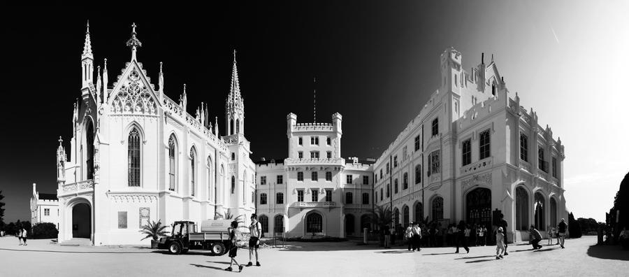 Castle Lednice by KeliBeli