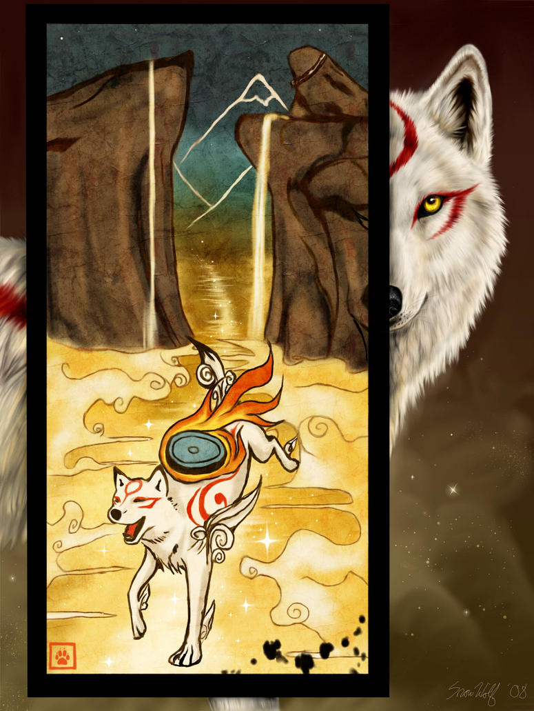 Okami - Painting a Legend by Starcanis