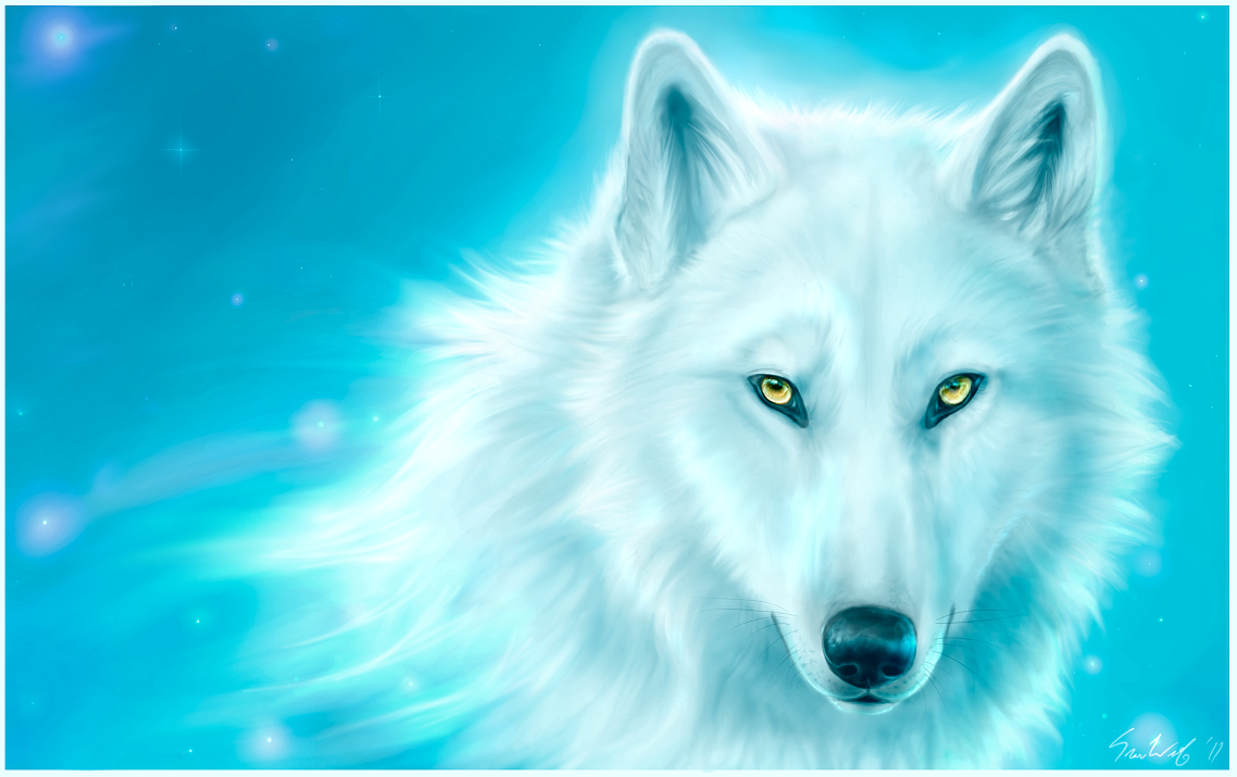 Canis Lupus Caelestis by Starcanis