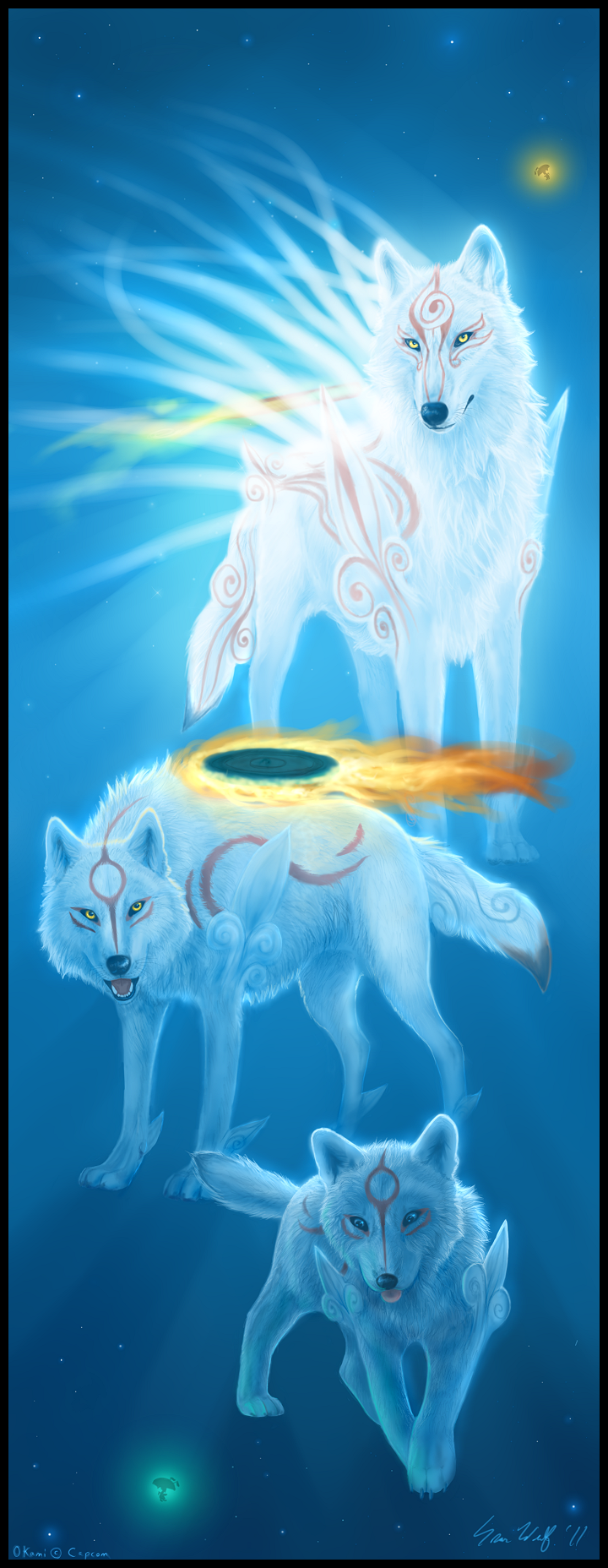Okami - Rebirth by Starcanis