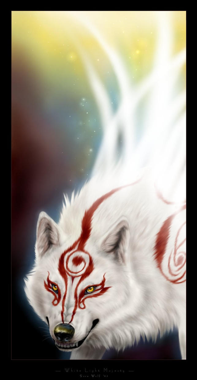 Okami White Light Majesty by Starcanis