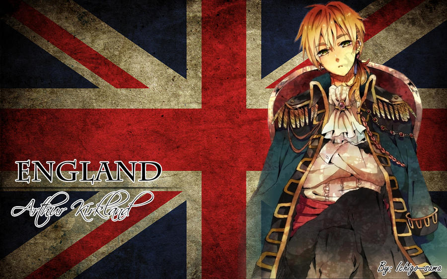 England wallpaper by Ichigo--sama