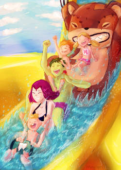 Family Trip - Water Park