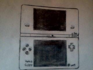 Nintendo DSi Drawing by BlazinVoid