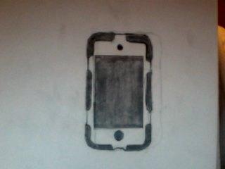 IPod Touch 4th Gen w/Case by BlazinVoid