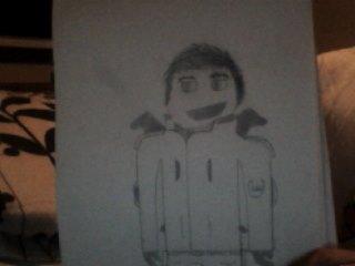 OC Sketch by BlazinVoid
