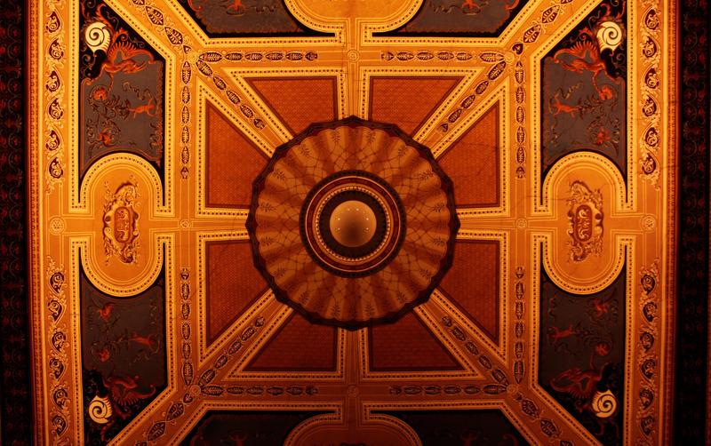 Museum ceiling. by JinnyJoe