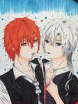 Art Trade: Momotarou and Kija