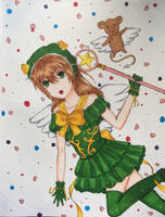 Sakura Kinomoto by iLoveAnimecx