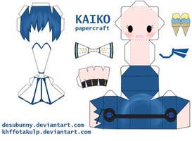 Kaiko papercraft by KHFFotakuLP