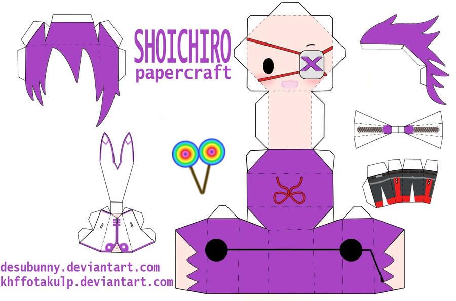 Shoichiro papercraft by KHFFotakuLP
