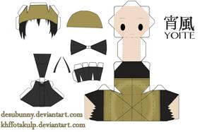 Yoite papercraft by KHFFotakuLP