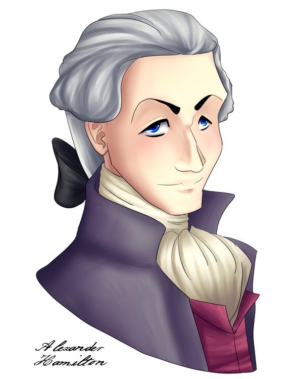 Alexander Hamilton Again by VoidStone