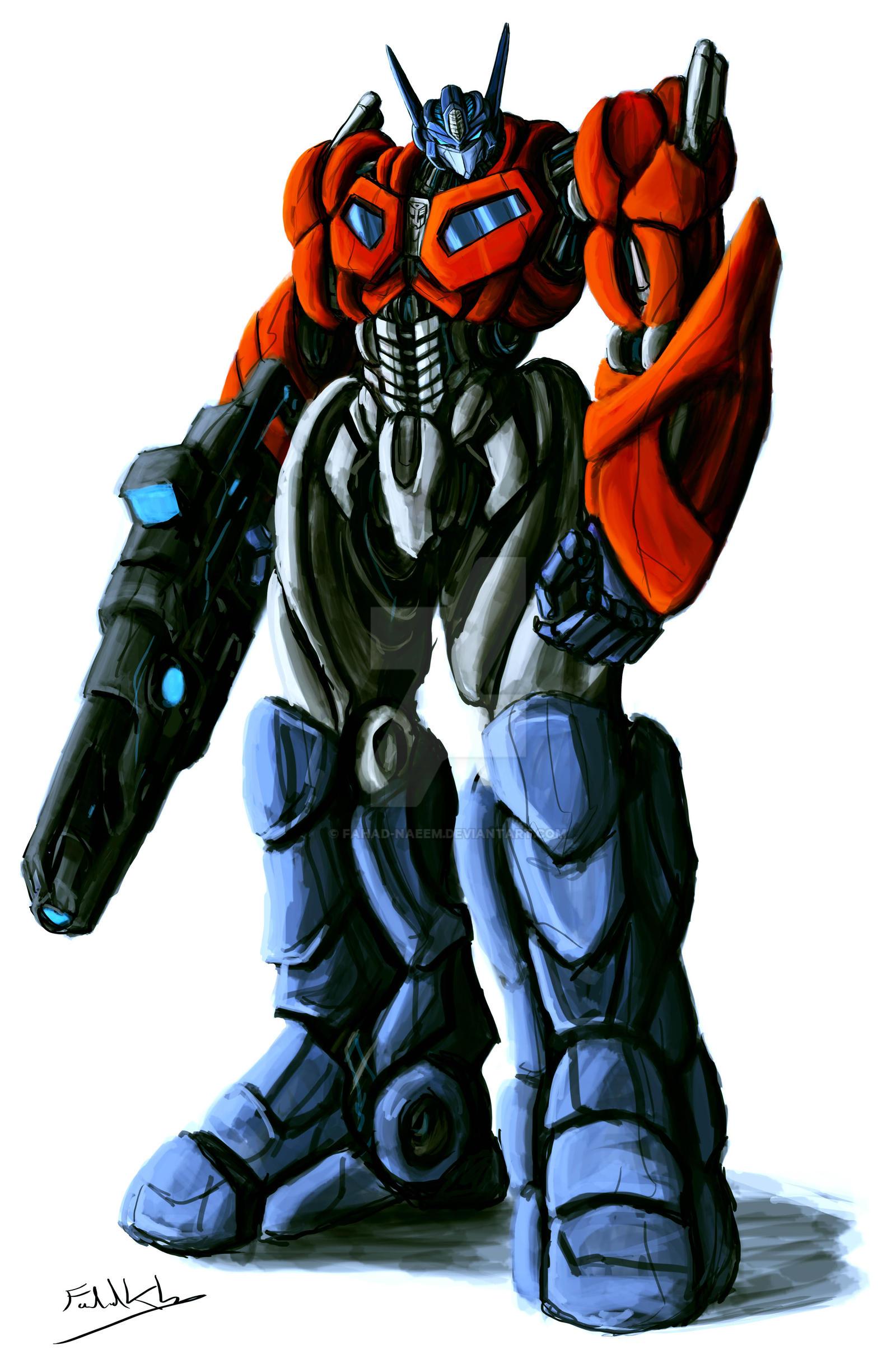 Optimus Prime by Fahad-Naeem