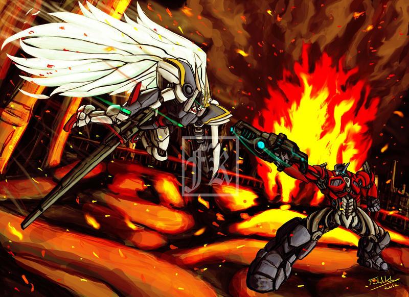Who will win? Gundam vs Transformers