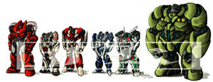Soldiers of Autobots