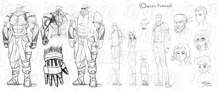 Onix's Family Design by Fahad-Naeem