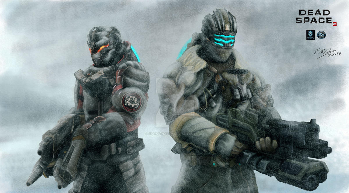 Dead Space 3 by Fahad-Naeem