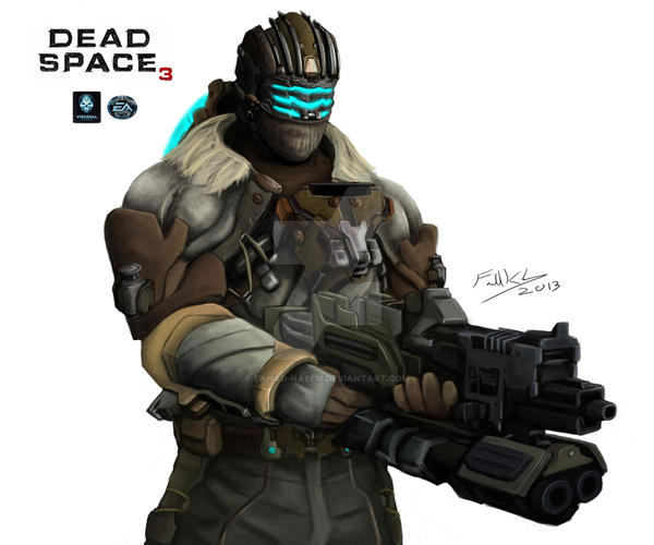 Dead Space 3: Isaac Clarke by Fahad-Naeem