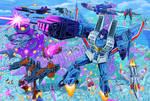 Decepticons Attack! by Fahad-Naeem