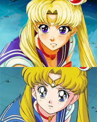 Sailor Moon Redraw Challenge by Fahad-Naeem