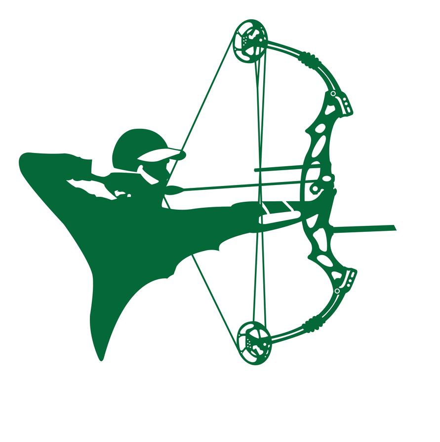 compound archery silhouette by graviss on DeviantArt
