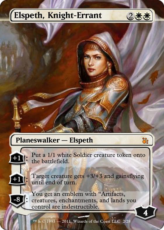 Elspeth, Knight-Errant by FSchipiura on DeviantArt