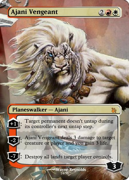 Ajani: Faces of a Planeswalker | MAGIC: THE GATHERING