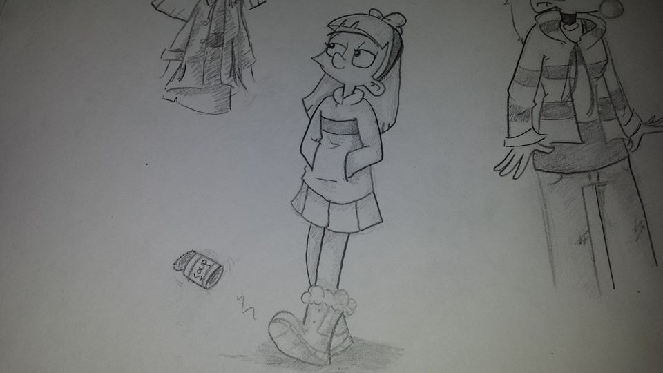 doodling helga by buynoe