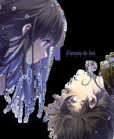 Hyouka - Render by esenciadeiris