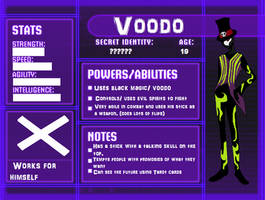 SGPA OC Villian Voodo by RainVongola