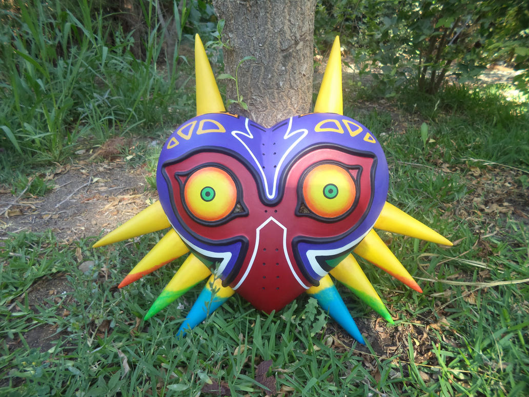 [commission] Majora's Mask by herektor