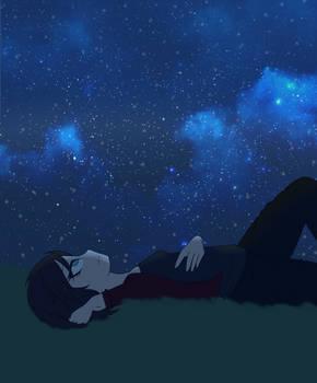 Star Gazing Alone