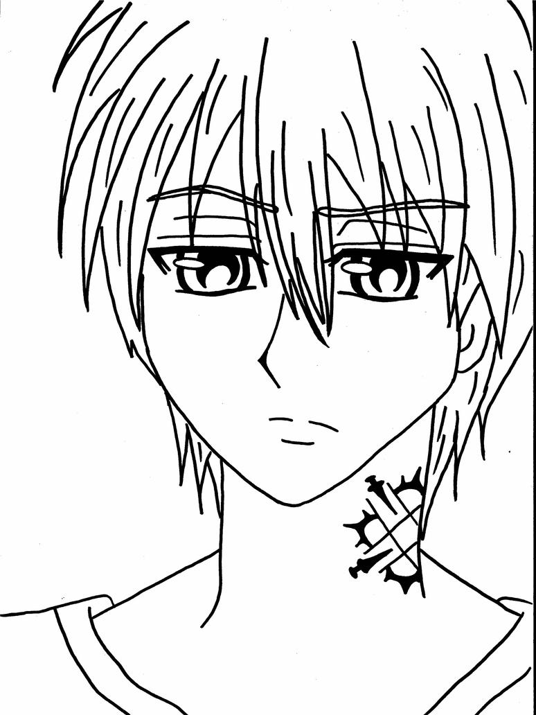 anime vampire knight coloring pages - photo#30