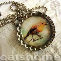WILD BIRDS PENDANTS 2 by catshome
