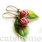 spring earrings 1 by catshome