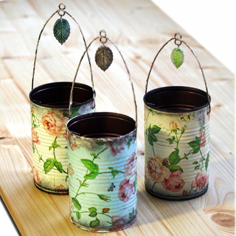 decorative tins made by napkin decoupage 1