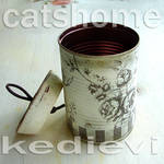 decorative tins made by napkin decoupage 4