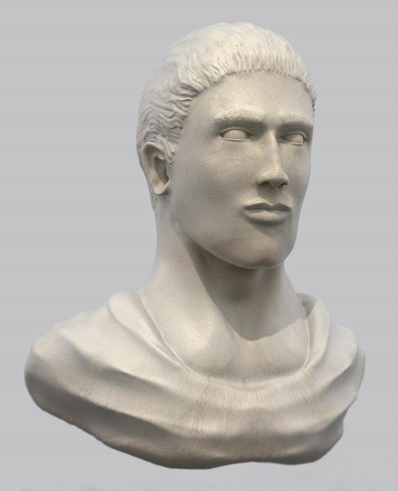 Roman 3d Bust by Demmios