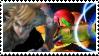 Samus and Link Stamp by GaaraSakuraForever