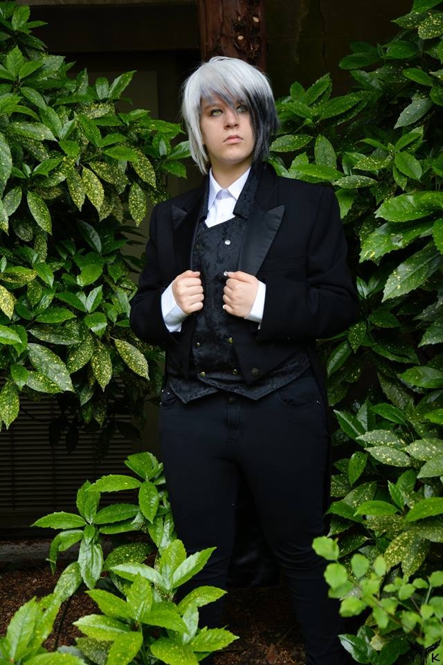 My candy love castiel cosplay